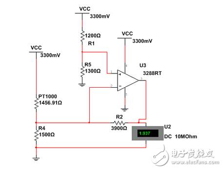 【每天看电路第7期】简单的测温电路,来试试呗