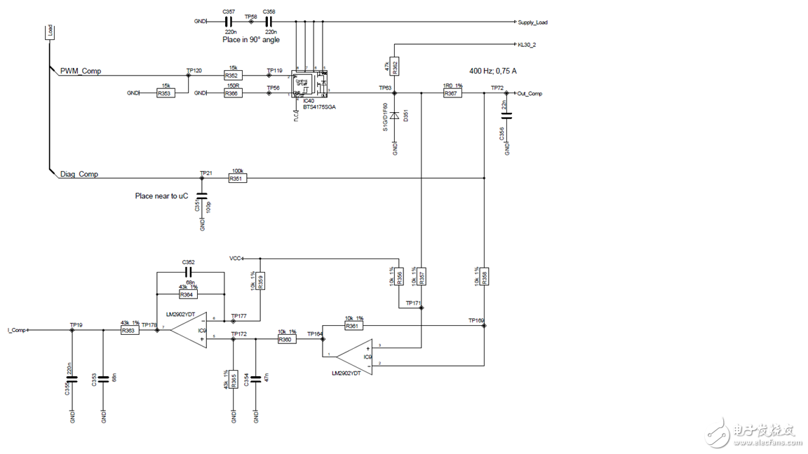 请帮忙分析此电路中两个放大器的作用