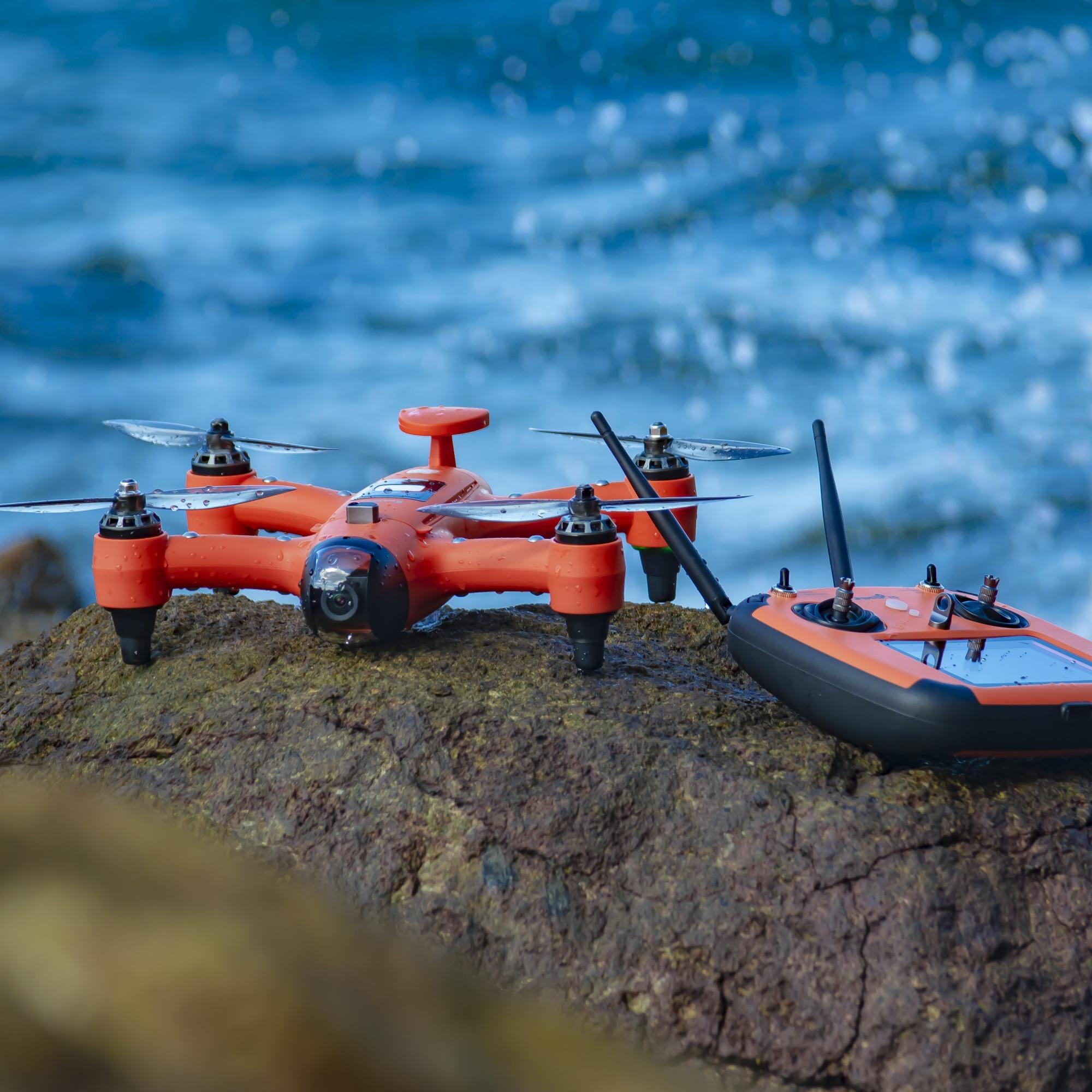 雨燕便携防水无人机整机防水如何实现