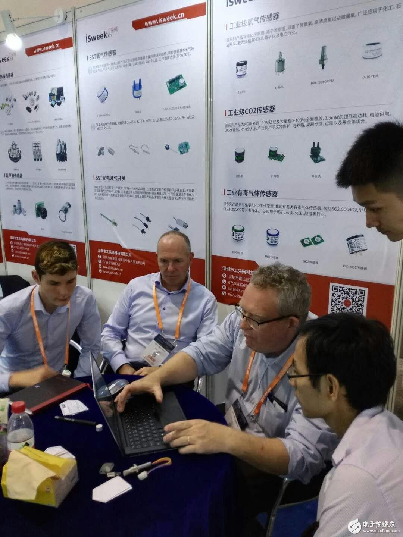 工采网参展2018中国上海国际传感器技术与应用展览会圆满落幕