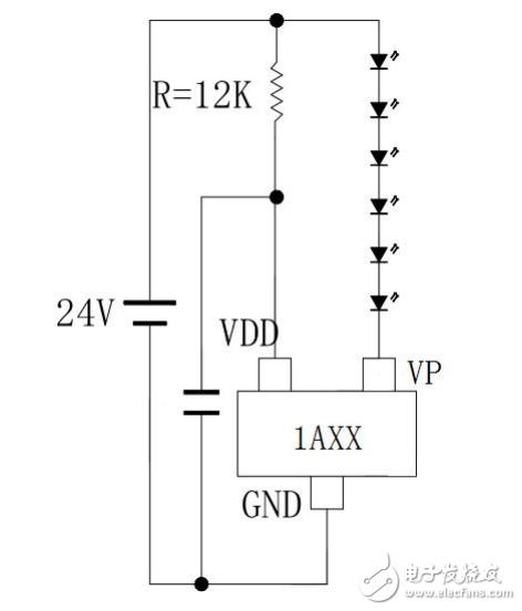 LED软硬灯条灯带驱动IC-HC301