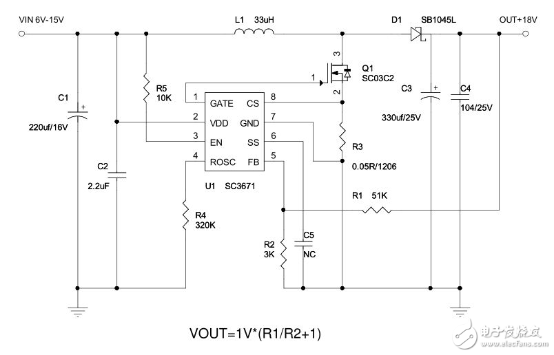 简化100V降压宽输入电压电源转换DC-DC应用分析