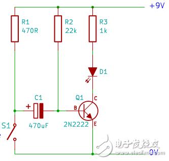 请问这个定时器电路是如何工作的?