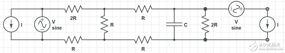 怎么计算通过该电容器的压降?