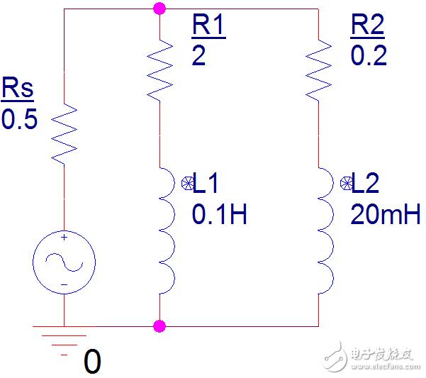 网点电流法怎么解决这个RL电路交流暂态和稳态分析?