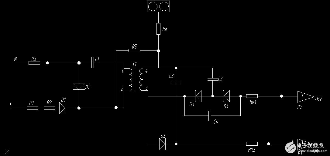 大家好,我今天抄了一个空气净化器的电路,谁能帮忙分析一下