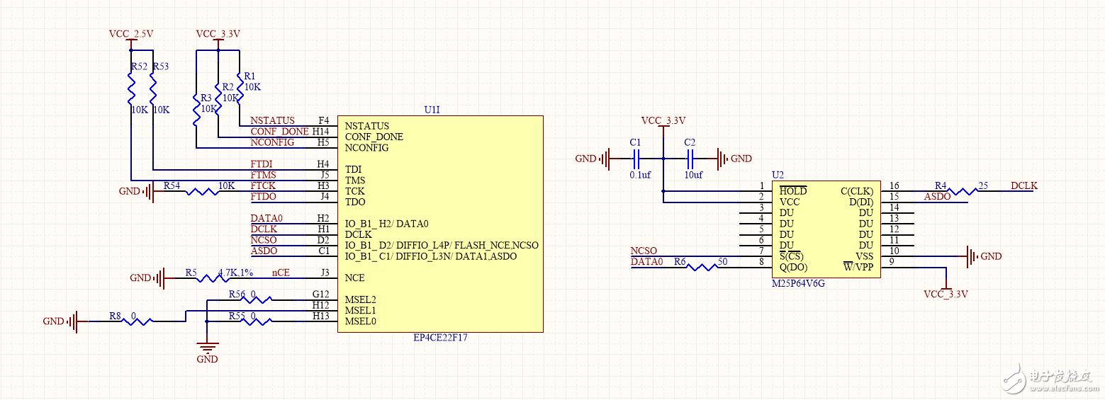 altera 的FPGA芯片下载时只能下载83%