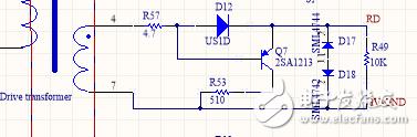 请问该电路的三极管能实现CE脚导通吗?