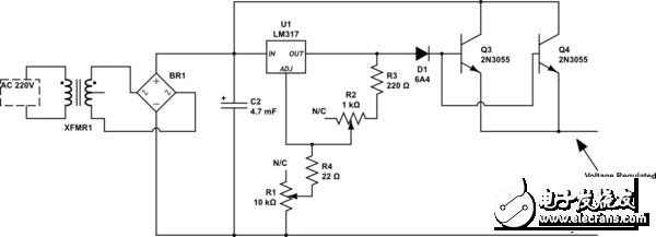 【每天看电路第27期】直流稳压电源电路