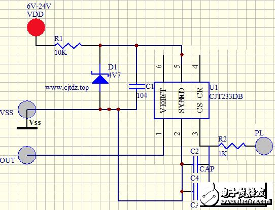 CJT233DB非接触液体的液位检测芯片