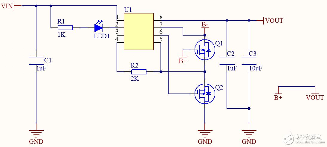 高集成度单芯片锂电池充电管理和电池保护一体解决方案