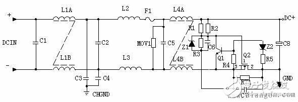 该电路如何实现Q1导通的