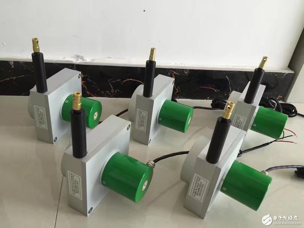 拉绳位移传感器中4-20mA信号的选择