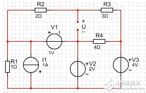求下电压U是多少,分析下过程。