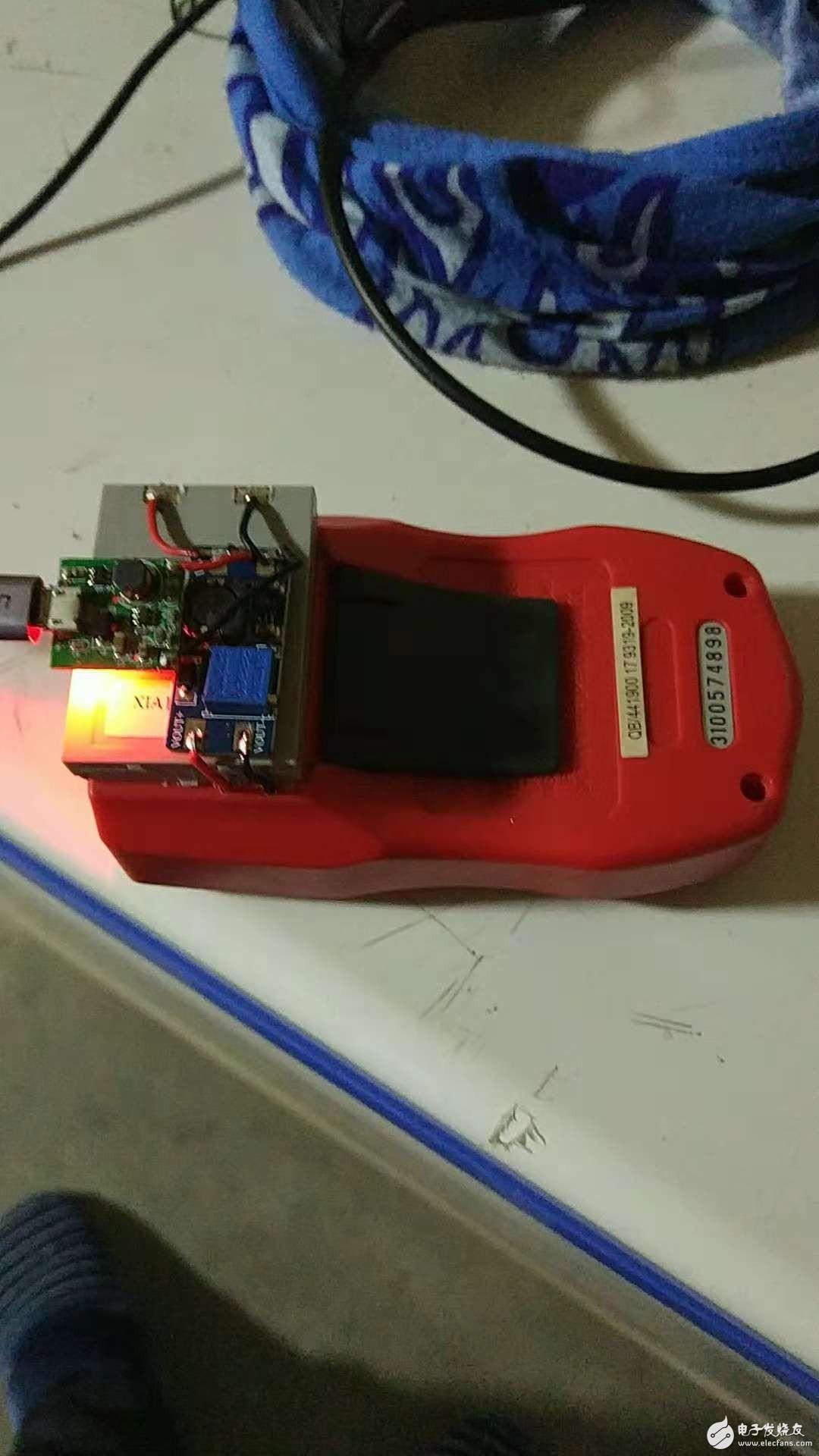 万用表电池没电了改改改