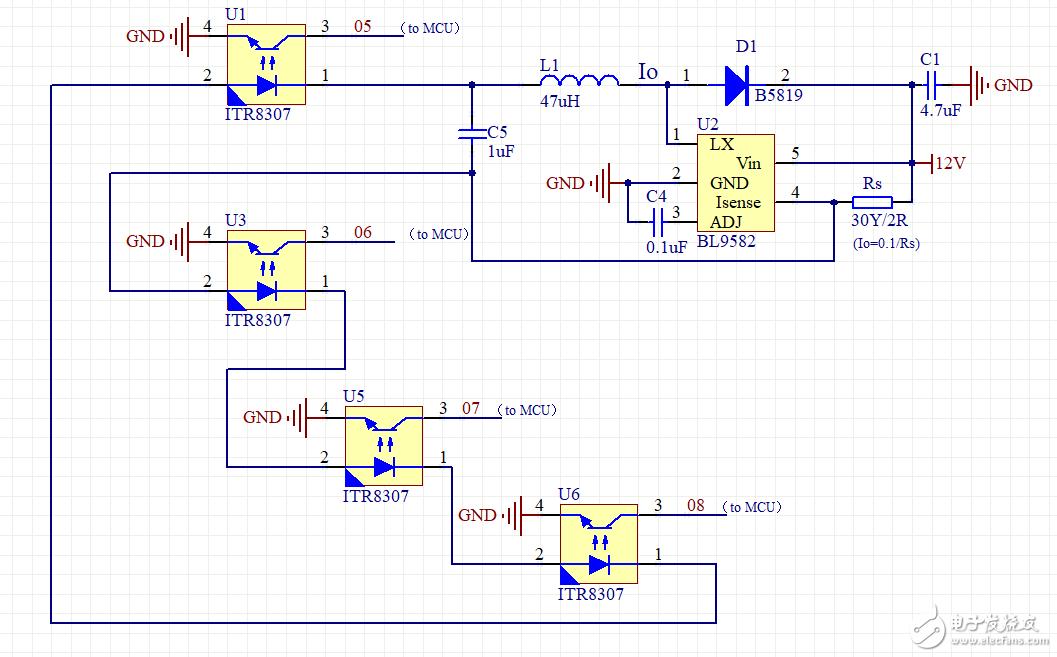 大家来分析一下这个电路的作用!