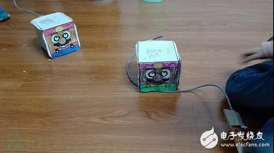 盒仔机器人DIY过程(电路+程序)