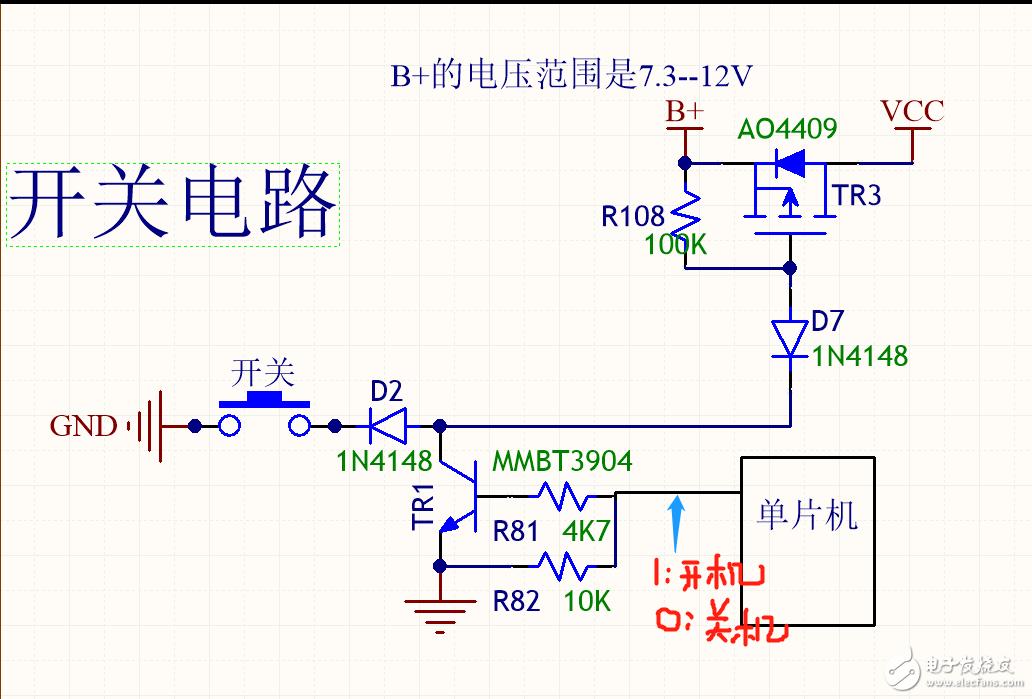 关于P-MOS开关电路中MOS管烧坏的求助