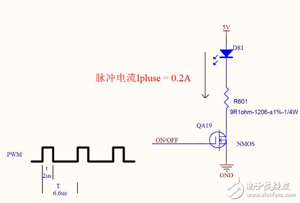 脉冲驱动电路中如何选择电阻