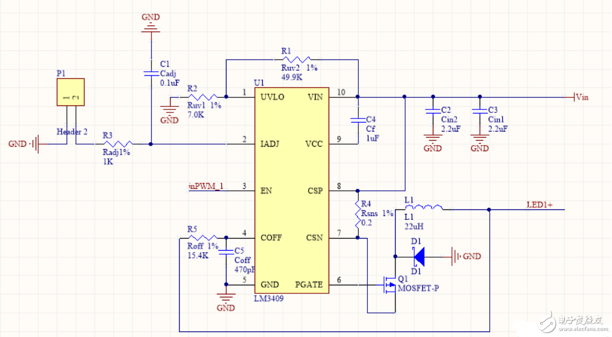 LED驅動遇到的問題