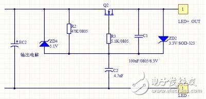 如何分析含MOS管的去纹波电路