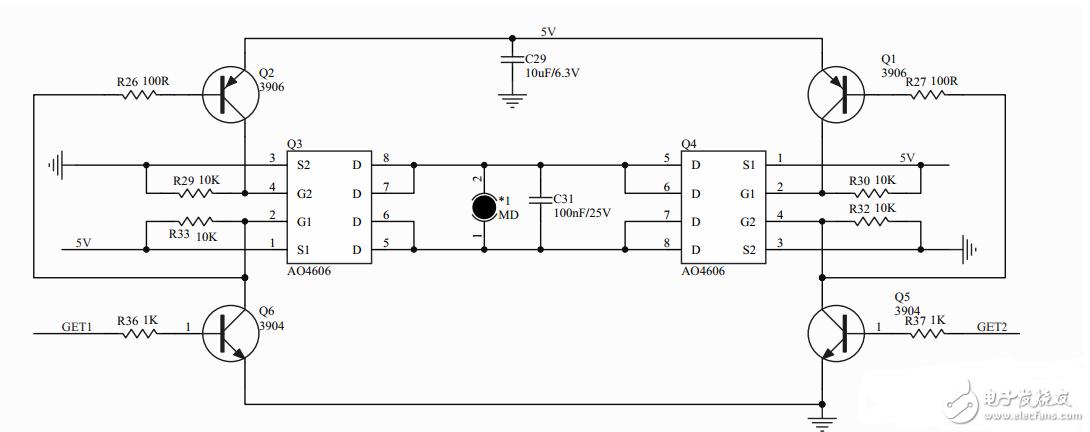 电机控制电路求分析