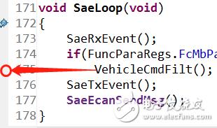 求解为何 CCS5.5 仿真时断点打不到函数内?