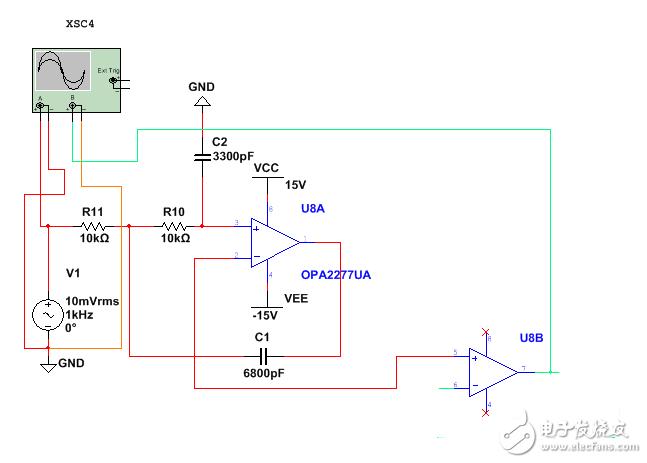 电路+仿真,分析下具体是什么功能