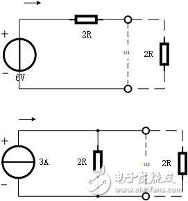 电流源到底是和电阻并联还是和电导并联?