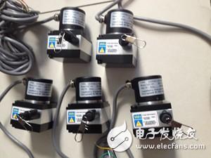 拉线绳式位移传感器的部件组成
