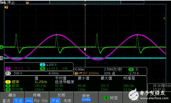 整流后的存在反向电流