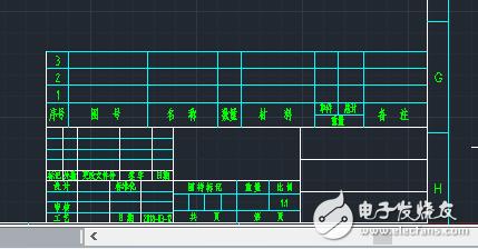 用CAD怎么能快速生成明细表?