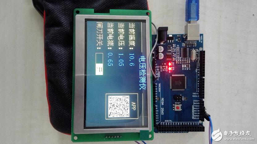 Arduino系列:T5UIC1串口彩屏与MEGA2560交互,实现常用功能(附例程)