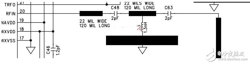 RF电路中电容电感的作用