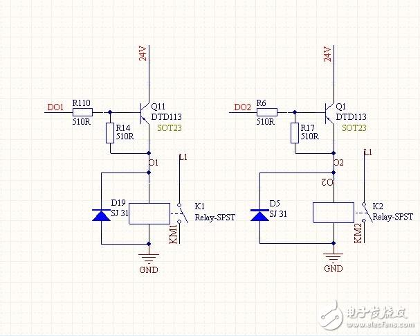 继电器驱动电路的问题