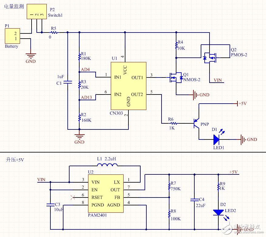 CN303电压检测电路