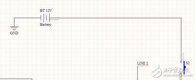 在画电路原理图时出现红色波浪线