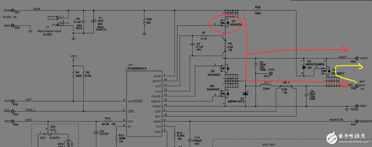 DCDC的PMIC电路中的MOS管起到什么作用