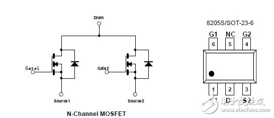 请问用图中的2个共漏极的NMOS管子如何接线驱动10v 350ma的LED灯珠,请大神帮忙设计一下,谢谢~~