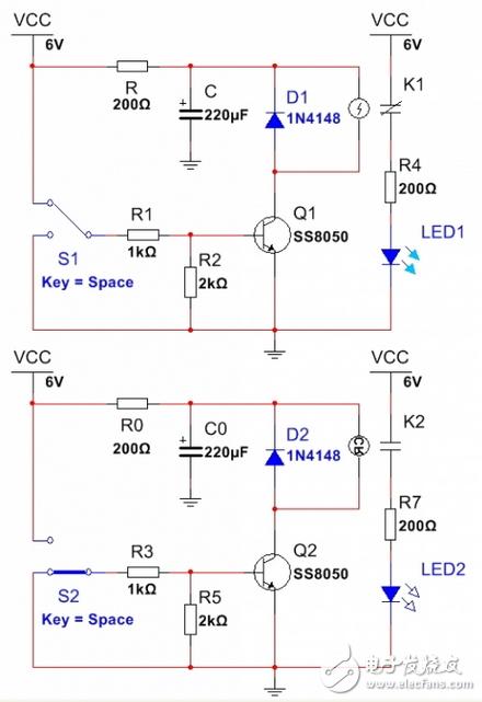 继电器功耗仅有原来不串电阻的1/3,这个电路有问题没?