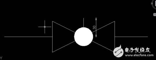CAD排水系统图纸如何绘制隔膜阀?