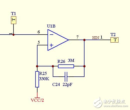 请帮忙分析运算放大器电路输出波形高低电平异常的原因?