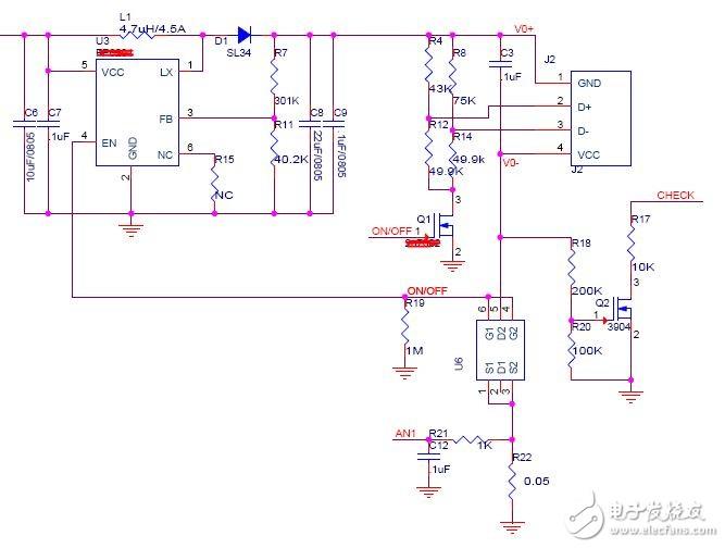 关于移动电源自动检测负载的疑惑