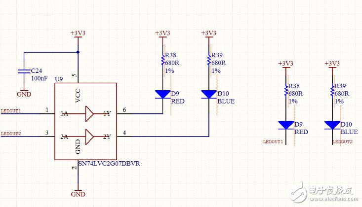 请问这个图的两种连接方式有什么区别?