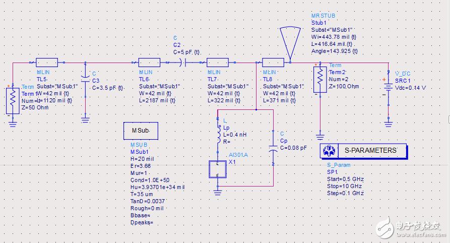 新人求助:如何在allegro中绘制如下的一个电路的pcb板