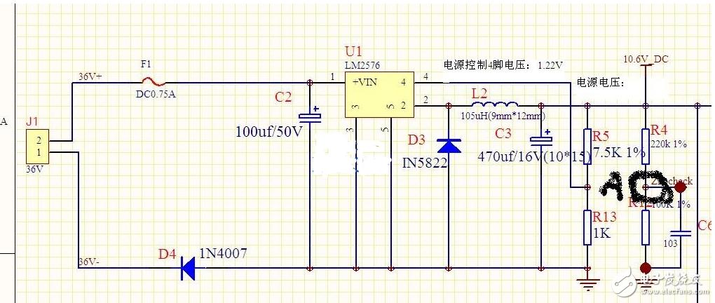 LED供电电路漏电问题