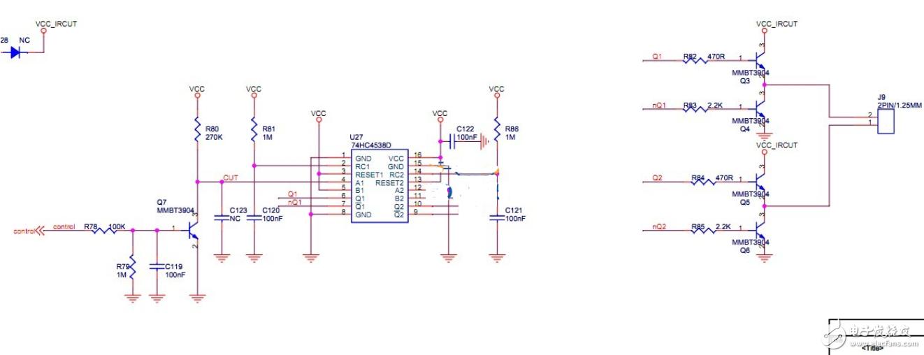 请问这个74系列芯片的作用是什么
