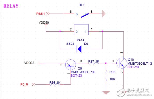 单片机在继电器控制电磁阀关断死机的问题