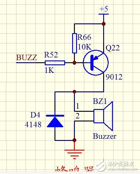 请教如何分析这个蜂呜器电路?