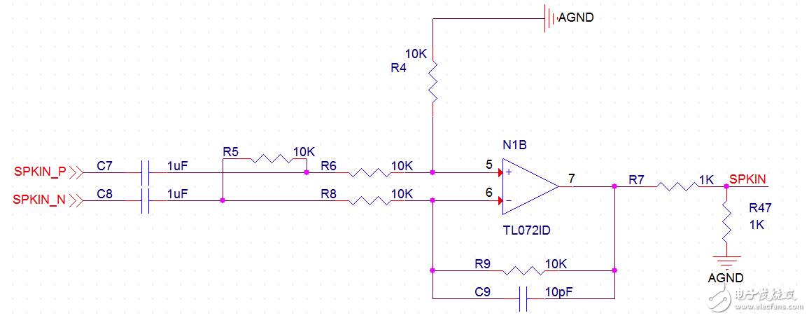 运放电路单端转差分和差分转单端的问题